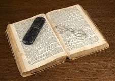Vecchio bibel Immagini Stock