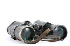 Vecchio binocolo Fotografie Stock Libere da Diritti
