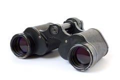Vecchio binoculare Fotografia Stock