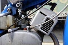 Vecchio blocco motore d'annata Fotografia Stock