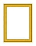 Vecchio blocco per grafici antico dell'oro Fotografie Stock