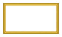 Vecchio blocco per grafici antico dell'oro Fotografia Stock