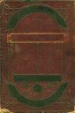 Vecchio blocco per grafici decorativo di cuoio marrone Fotografia Stock Libera da Diritti