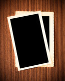 Vecchio blocco per grafici della foto Fotografie Stock