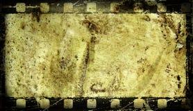 Vecchia struttura di film immagine stock