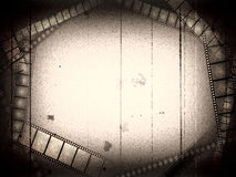 Vecchio blocco per grafici di film fotografie stock