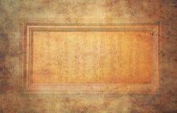 Vecchio blocco per grafici di legno Fotografia Stock