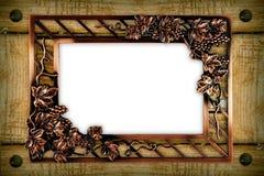 Vecchio blocco per grafici di legno della priorità bassa Immagine Stock Libera da Diritti