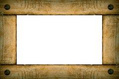 Vecchio blocco per grafici di legno della priorità bassa Immagini Stock Libere da Diritti