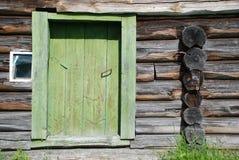 Vecchio blockhouse Fotografie Stock Libere da Diritti
