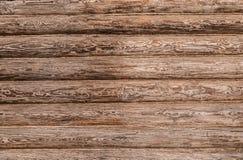 Blockhouse di legno Fotografia Stock