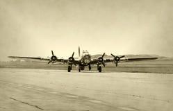 Vecchio bombardiere Fotografia Stock Libera da Diritti