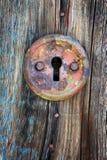 Vecchio buco della serratura fotografia stock libera da diritti
