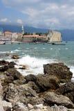 Vecchio Budva, Montenegro Fotografie Stock Libere da Diritti