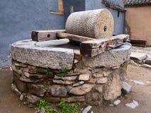Vecchio Buhrimill cinese Fotografia Stock