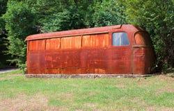 Vecchio bus Immagine Stock Libera da Diritti