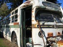 Vecchio bus Fotografie Stock