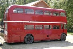 Vecchio bus di Londra Fotografia Stock