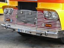 Vecchio bus di Malta Fotografia Stock Libera da Diritti