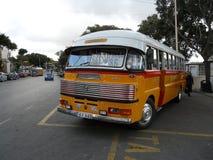 Vecchio bus di Malta Fotografie Stock Libere da Diritti