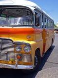 Vecchio bus a Malta Fotografia Stock Libera da Diritti