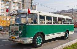 Vecchio bus ZiL-158 Fotografie Stock