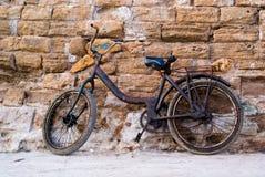 Vecchio Bycicle Fotografia Stock Libera da Diritti