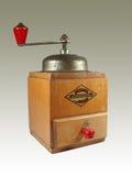 Vecchio caffè-laminatoio Fotografia Stock