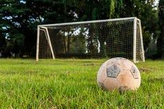 Vecchio calcio Immagine Stock