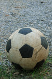 Vecchio calcio Fotografia Stock