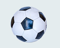 Vecchio calcio in bianco e nero Fotografia Stock