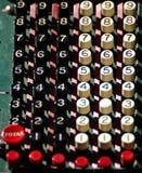 Vecchio calcolatore Immagini Stock