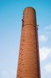 Vecchio camino industriale Fotografia Stock Libera da Diritti