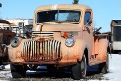 Vecchio, camion arrugginito Fotografia Stock Libera da Diritti