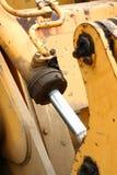 Vecchio camion Hydrolic Fotografia Stock