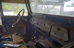 Vecchio camion 4x4 Fotografia Stock