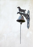Vecchio campanello per porte Immagine Stock Libera da Diritti