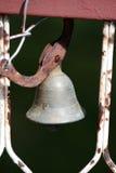 Vecchio campanello per porte Fotografie Stock Libere da Diritti