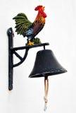 Vecchio campanello per porte Fotografia Stock Libera da Diritti