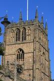 Vecchio campanile della chiesa   Fotografia Stock