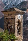 Vecchio campanile di Biegno Fotografia Stock Libera da Diritti