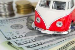 Vecchio campeggiatore classico di VW fatto dal Corgi Immagini Stock Libere da Diritti