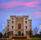 Vecchio Campidoglio Baton Rouge Stati Uniti dello stato della Luisiana Fotografia Stock Libera da Diritti