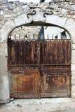 Vecchio cancello Fotografia Stock