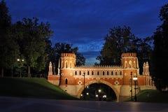 Vecchio cancello Fotografie Stock