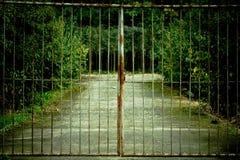 Vecchio cancello Immagine Stock Libera da Diritti