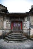 Vecchio cancello cinese Fotografie Stock