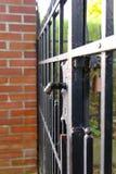 Vecchio cancello del ferro Fotografia Stock