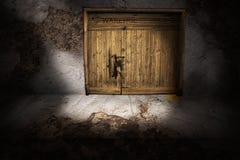 Vecchio cancello del magazzino Immagine Stock Libera da Diritti