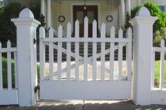 Vecchio cancello dell'entrata Immagini Stock Libere da Diritti